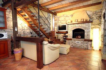 Kožljak, Living room u smještaju tipa house, dopusteni kucni ljubimci i WIFI.