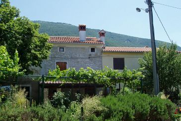 Property Vozilići (Labin) - Accommodation 3400 - Vacation Rentals with pebble beach.