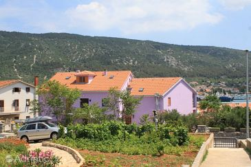 Property Cres (Cres) - Accommodation 3448 - Rooms near sea with pebble beach.
