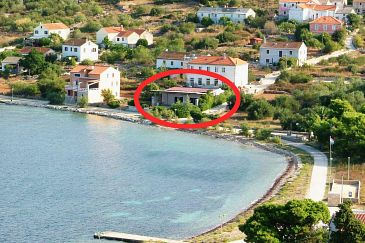 Property Uvala Soline (Dugi otok) - Accommodation 3452 - Apartments near sea with rocky beach.