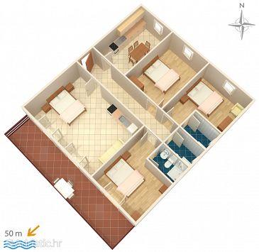 Apartment A-358-a - Apartments Sveti Petar (Biograd) - 358