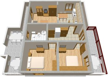 Apartment A-377-a - Apartments Mali Lošinj (Lošinj) - 377