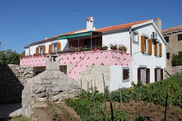 Property Stivan (Cres) - Accommodation 382 - Apartments with pebble beach.