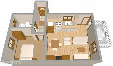 Apartment A-393-a - Apartments and Rooms Zaglav (Dugi otok) - 393