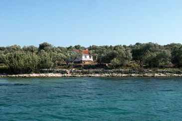 Property Krknata (Dugi otok) - Accommodation 397 - Vacation Rentals near sea with rocky beach.
