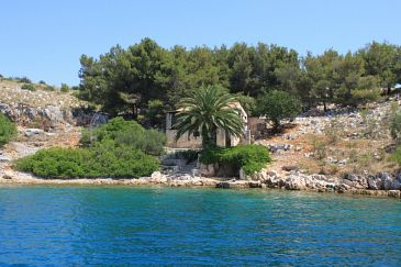 Property Lavdara (Dugi otok) - Accommodation 398 - Vacation Rentals near sea with rocky beach.