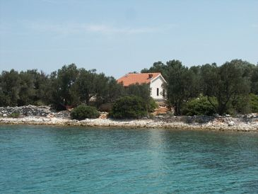 Property Krknata (Dugi otok) - Accommodation 399 - Vacation Rentals near sea with rocky beach.