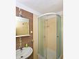 Bathroom 1 - Apartment A-4008-c - Apartments Uvala Tvrdni Dolac (Hvar) - 4008