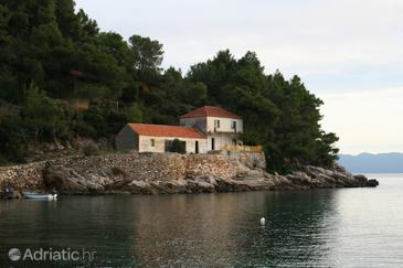 Property Uvala Skozanje (Hvar) - Accommodation 4009 - Vacation Rentals near sea with pebble beach.