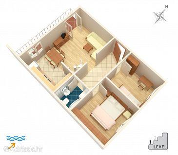 Apartment A-4019-b - Apartments Jelsa (Hvar) - 4019