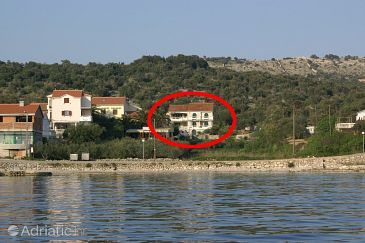 Property Jakišnica (Pag) - Accommodation 4054 - Apartments near sea with pebble beach.