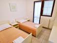 Mandre, Sypialnia 2 w zakwaterowaniu typu apartment, dopusteni kucni ljubimci.