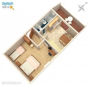 Apartment A-407-b - Apartments Njivice (Krk) - 407
