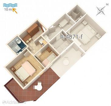 Apartment A-4071-e - Apartments Stara Novalja (Pag) - 4071