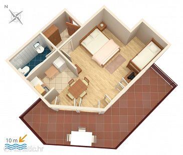 Studio flat AS-4071-a - Apartments Stara Novalja (Pag) - 4071