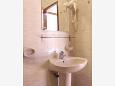 Bathroom - Studio flat AS-4071-a - Apartments Stara Novalja (Pag) - 4071