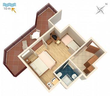 Studio AS-4071-b - Apartamenty Stara Novalja (Pag) - 4071