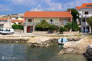 Property Kustići (Pag) - Accommodation 4081 - Apartments near sea with pebble beach.