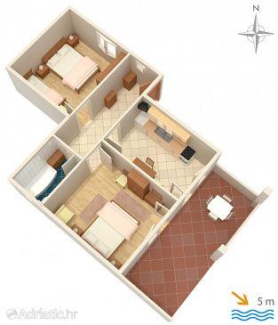 Apartment A-4093-a - Apartments Mandre (Pag) - 4093