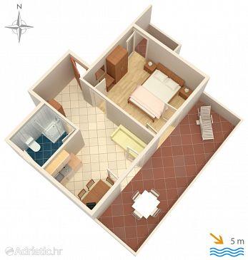 Apartment A-4093-b - Apartments Mandre (Pag) - 4093