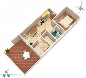 Apartment A-4098-c - Apartments Mandre (Pag) - 4098
