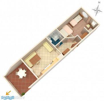 Apartment A-4098-d - Apartments Mandre (Pag) - 4098
