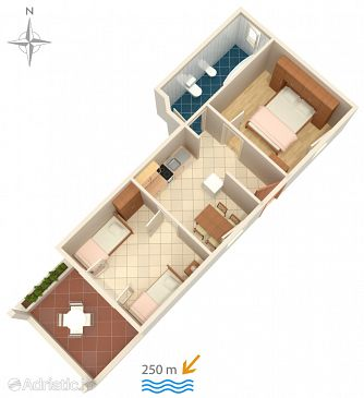 Apartment A-4112-a - Apartments Pag (Pag) - 4112
