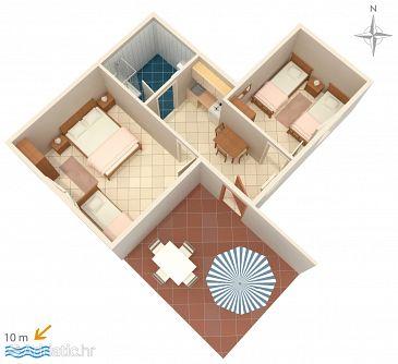 Apartment A-4114-d - Apartments Novalja (Pag) - 4114