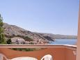 Terrace - view - Apartment A-4115-f - Apartments Metajna (Pag) - 4115