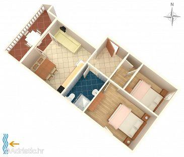 Apartment A-4116-d - Apartments Metajna (Pag) - 4116