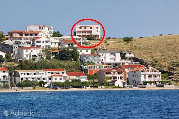 Property Metajna (Pag) - Accommodation 4118 - Apartments with sandy beach.