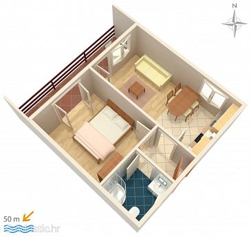 Apartment A-4149-b - Apartments Pag (Pag) - 4149