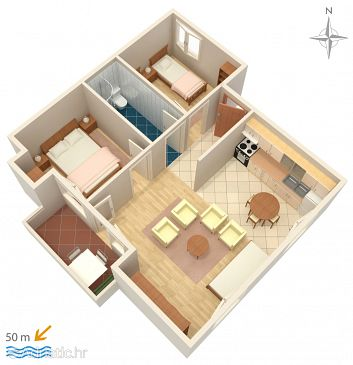 Apartment A-4149-c - Apartments Pag (Pag) - 4149