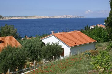 Obiekt Stara Novalja (Pag) - Zakwaterowanie 4152 - Willa blisko morza ze żwirową plażą.