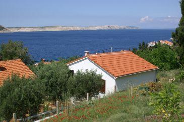 Property Stara Novalja (Pag) - Accommodation 4152 - Vacation Rentals near sea with pebble beach.