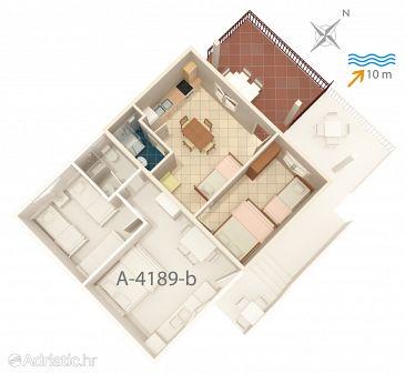 Apartment A-4189-a - Apartments Bilo (Primošten) - 4189