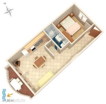 Apartment A-4194-d - Apartments Brodarica (Šibenik) - 4194