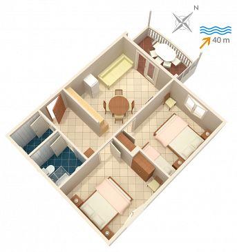 Apartament A-4202-b - Apartamenty Bilo (Primošten) - 4202