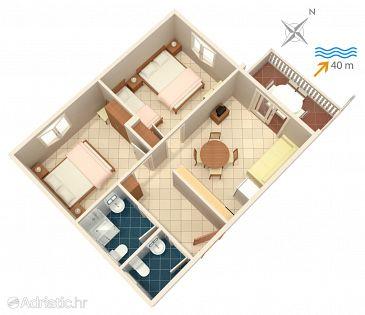 Apartment A-4202-c - Apartments Bilo (Primošten) - 4202