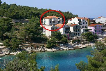 Obiekt Bilo (Primošten) - Zakwaterowanie 4202 - Apartamenty blisko morza.