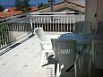 Terrace - Apartment A-421-a - Apartments Malinska (Krk) - 421