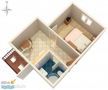 Apartment A-4210-c - Apartments Vodice (Vodice) - 4210