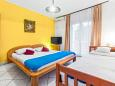 Bedroom - Studio flat AS-4231-a - Apartments Vodice (Vodice) - 4231