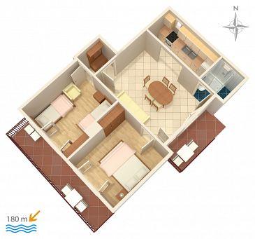 Apartament A-4247-a - Apartamenty Bilo (Primošten) - 4247