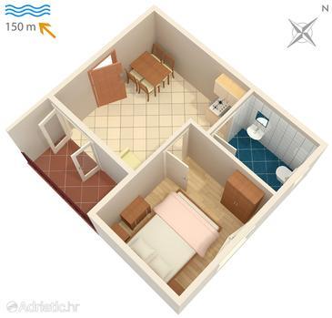 Apartment A-4249-c - Apartments Brodarica (Šibenik) - 4249