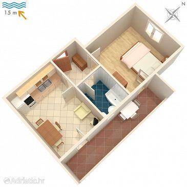 Apartment A-4253-b - Apartments Ražanj (Rogoznica) - 4253
