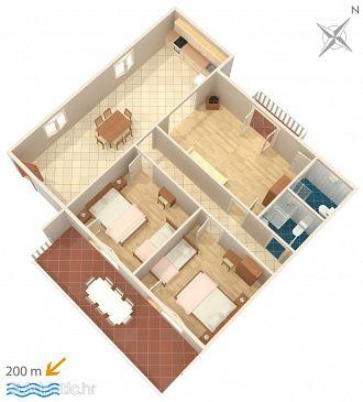 Apartment A-4254-c - Apartments Grebaštica (Šibenik) - 4254