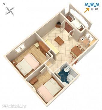 Apartment A-4255-c - Apartments Rogoznica (Rogoznica) - 4255