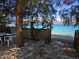 Podwórko Ražanj (Rogoznica) - Zakwaterowanie 4260 - Willa blisko morza ze żwirową plażą.