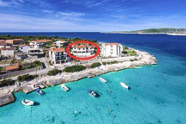 Property Kanica (Rogoznica) - Accommodation 4269 - Apartments near sea with pebble beach.